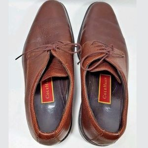 Cole Haan Shoes - Cole Haan oxfords brown pebbled mens 9.5